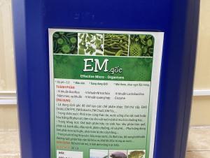 Chế phẩm sinh học EM gốc giá rẻ